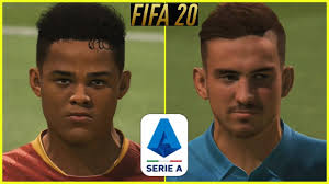 FIFA 20 - NEW SERIE A PLAYER FACES/STARHEADS/CARAS