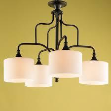 candelabra lamp shades modern drum shade downlight kitchen chandelier by 2 12