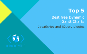Top 5 Best Free Jquery And Javascript Dynamic Gantt Charts