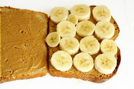 Image result for banana and peanut butter