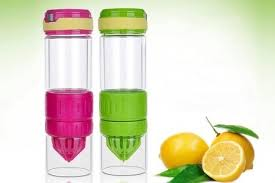 up to 48 off glass fruit infuser water bottle from rm38