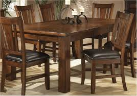 magnificent dark oak finish casual dining table w optional chairs dark wood kitchen table with bench