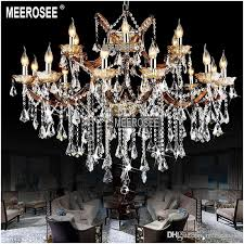 classic crystal chandelier lighting large cristal res light fixture chandelier fitting crystal for hotel project md8662 drum shade chandelier kids