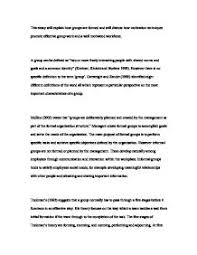 this essay will explain how groups are formed and will discuss how  page 1 zoom in