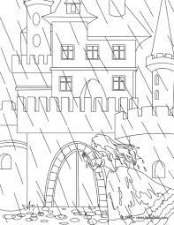 princess and the pea coloring page. the princess and pea tale coloring page n