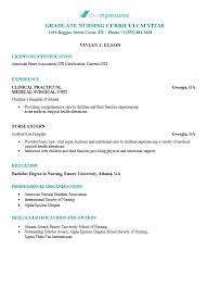 registered nurse sample resumes nursing resume devmyresume com