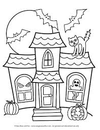 Halloween coloring sheets are an excellent way to get your kids in the spooky spirit. Halloween Coloring Pages Easy Peasy And Fun