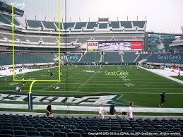 Eagles Stadium Seating Chart View Www Bedowntowndaytona Com