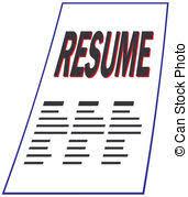 Resume Resume Clipart ...