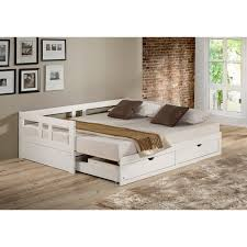 trundle daybed with storage. Beautiful Storage Melody Twin To King Trundle Daybed With Storage Drawers White On With U