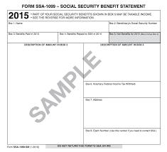 ssa 1099 social security benefits