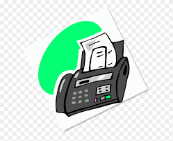 Receives Faxes As Emails Fax Machine Clip Art Free Transparent
