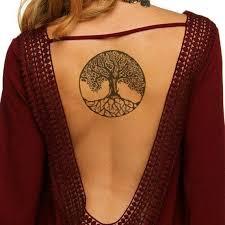 Tree Of Life Tet Tetování Tetování Strom A Návrhy Tetování