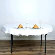 plastic tablecloth cover