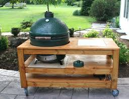 big green egg built in image of new big green egg built in outdoor kitchen big