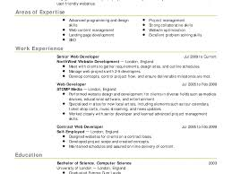 Breathtaking Two Page Resume Horsh Beirut