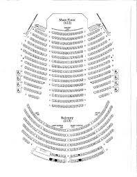 Seating Chart Grand Opera House