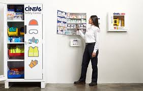 First Aid Supply Vending Machine Extraordinary Workplace First Aid Kits OSHA First Aid Kits For Offices Cintas
