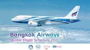Bangkok Airways announces its Winter flight schedule 2021 - TAT Newsroom