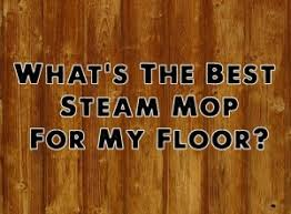 what s the best steam mop for my floor