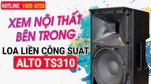 Bảo Châu Elec Biên Hòa - Xem nội thất của Loa Active Alto TS310, Design  USA, Công suất tới 2000W, Âm thanh mạnh mẽ