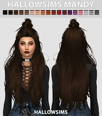 hallowsims: HallowSims Mandy - Comes in 18... - THE SIMS 4 CUSTOM CONTENT