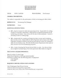 Cashier Job Description For Resume Free Resume Templates 2018