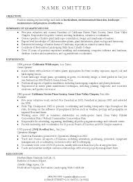 Resume Examples Career Change Examples Of Resumes