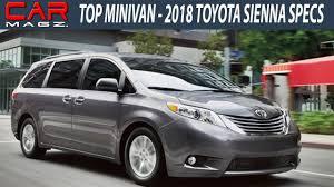 NEW] 2018 Toyota Sienna Interior Price and Specs - YouTube