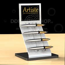 Pen Display Stands Unique Artiste Pen Display Stand Acrylic Counter And Table Top Displays