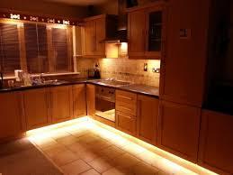 cool kitchen lighting. Kitchen. L Shape Kitchen Decoration Using Solid Light Oak Wood Cabinet Including Steel Range Cool Lighting