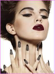 makeup ideas dark lipstick