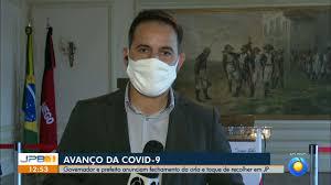 Paraíba vai ter toque de recolher e fechamento da orla a partir desta  terça, dizem governador e prefeito | Paraíba