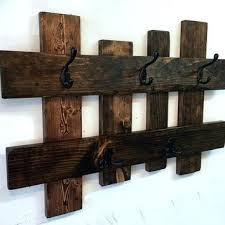 Wooden Wall Coat Rack Hooks Rustic Coat Hanger Wall Mounted Wooden Coat Rack Plans Best Ideas On 80