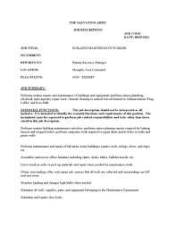 resume for maintenance manufacturing project manager resume maintenance man skills resume template resume service
