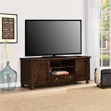 Storage Living Room Furniture Dark Brown Wood Rustic Tv Stands Living Room Furniture