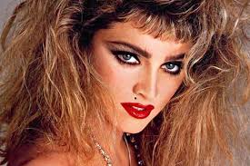 the turbulent 80s on 1980 80s makeup hair style hairstyle madonna big