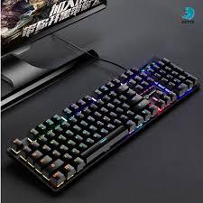 Bàn phím cơ chuyên game Divipard AK911 tích hợp Led 7 màu