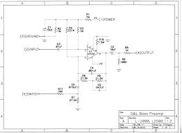 g l wiring diagrams and schematics pdf is 25kb l 2000 l 2500 preamp schematic version 1 2