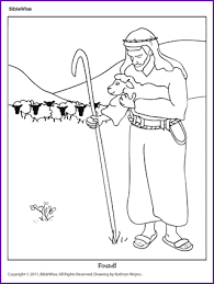 Small Picture Download Parable Of The Lost Sheep Coloring Page Ziho Coloring
