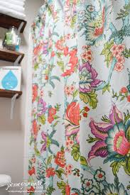 main bath reveal let s talk about that shower curtain