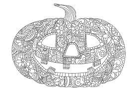 Enge Kleurplaten Van Halloween