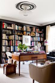 bookcases for home office. Home Office Bookshelves Contemporary With Built In Bookcase Black Walls Bookcases For G