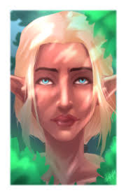 i m trying to learn digital painting here s my first attempt so here s an elf