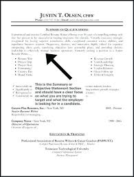 opening objective for resume example of good resume objective resume objective summary examples