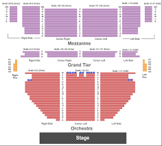 Stamford Center For The Arts Theatre Seating Chart Stamford