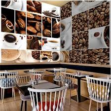 wall decor paper 3D Coffee beans puzzle room living room dining hotel coffee  shop wall covering murals 3d wall paper home decor-in Wallpapers from Home  ...
