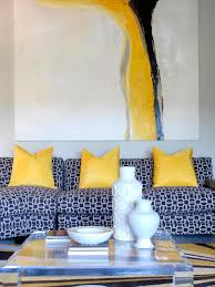 Orange And Yellow Living Room Interior Designers Share Top Summer Color Trends Hgtv