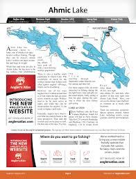 Ahmic Lake Ontario Anglers Atlas