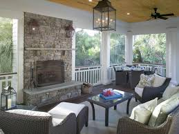 Houzz Porch Designs Fireplace On The Deck Houzz Porch Fireplace Traditional
